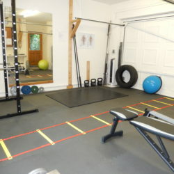 Get fit in private at the Home Fit and Healthy gym!